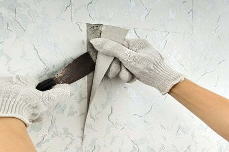 Amarillo-wallpaper-removal